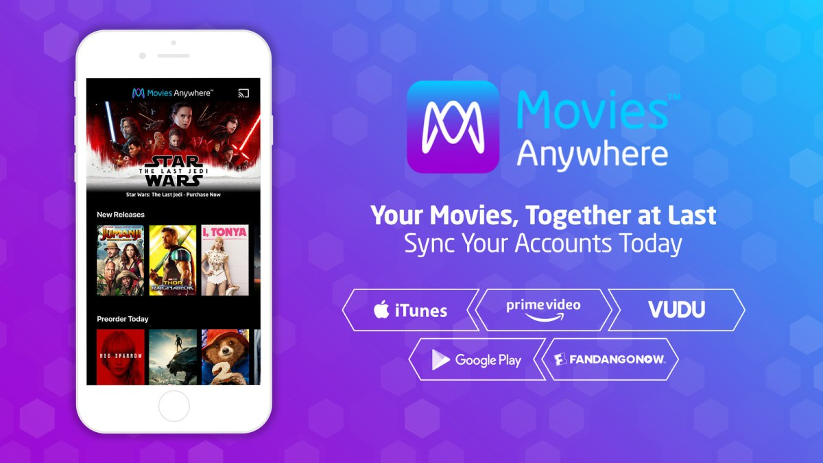 FandangoNOW Joins Movies Anywhere