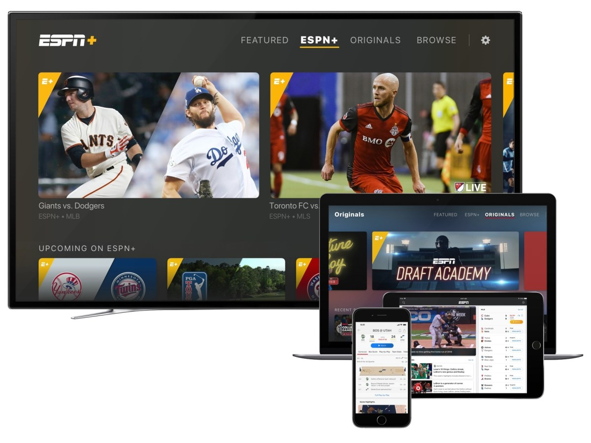 New, Re-Imagined ESPN App With ESPN+ Launches