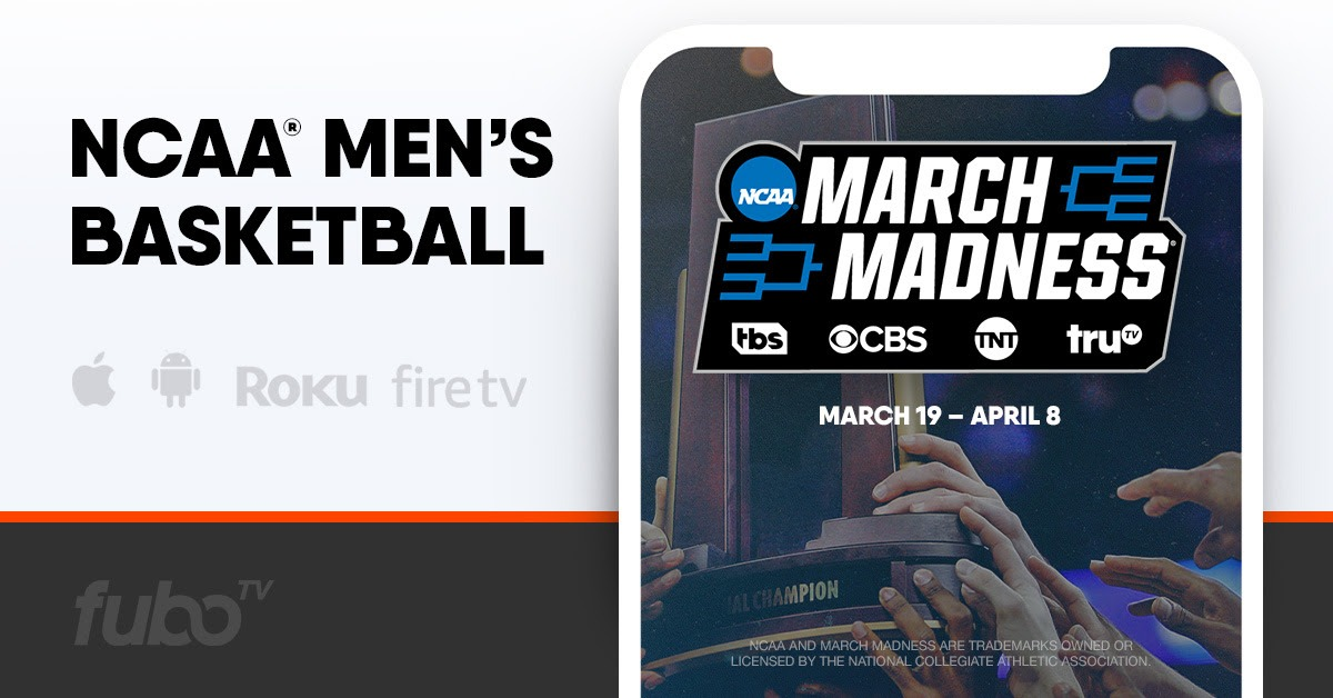 Stream March Madness & Road To Euro 2020 On fubo TV