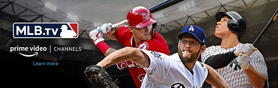 MLB.TV Now Available on Prime Video Channels