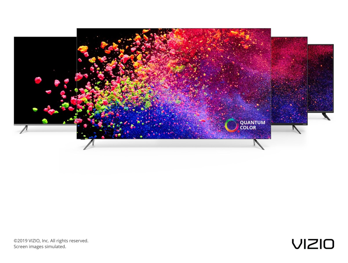 VIZIO 2019 TV Collection Now Available