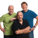Michael J. Nelson, Kevin Murphy, and Bill Corbett