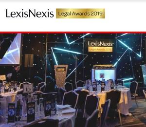Lexis Nexis Legal Awards 2019