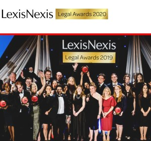 Lexis Nexis Legal Awards 2020