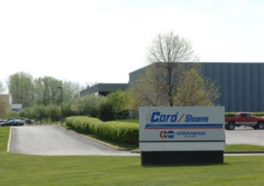 Sign outside of Cord Moving and Storage Headquarters
