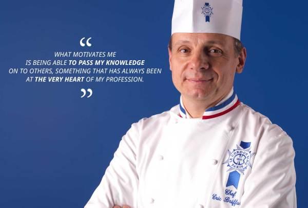 Eric Briffard, the confessions of a Michelin starred chef