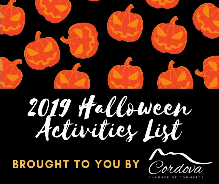 Cordova Halloween – Harvest Activities List