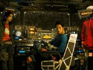 escena de la pelicula Barrenderos espaciales