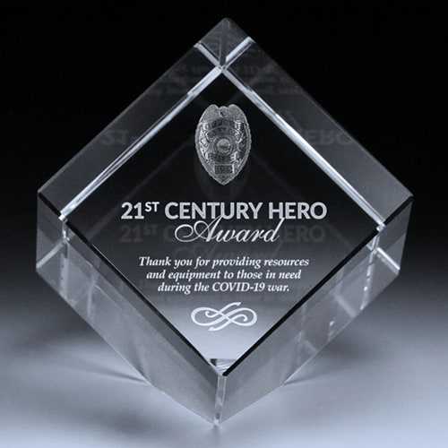 21st Century Hero Award Image