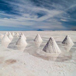 Lithium salars
