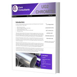 UG2 Chrome Ore Cover