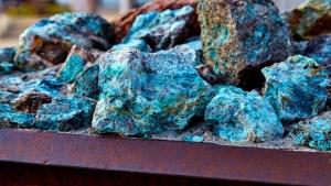 ores containing cobalt