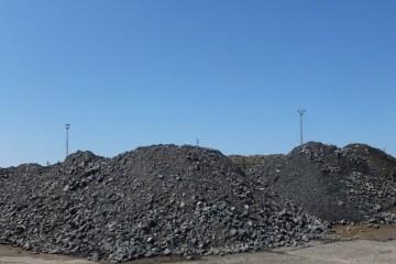 Ferrochrome Oversupplied, Image showing Chrome ore stockpiles