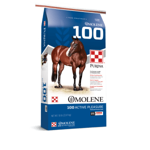 Omolene #100 Active Pleasure Horse Feed