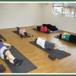 Pilates class on mats in Wishart