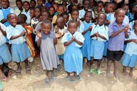 En hälsning från barnen i Jimba, Kenya