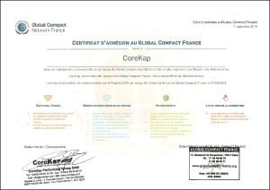 CoreKap-Adhesion-Global-Compact-France