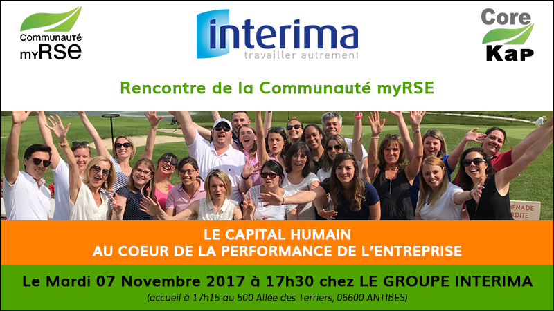 Rencontre Communauté myRSE