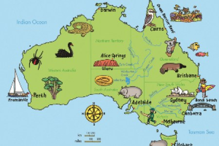 australia physical map outback hd images wallpaper for downloads