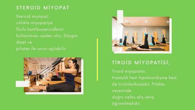 miyopati tedavisinde pilates