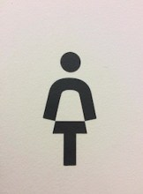 German Washroom Icon, photo by Dionne Peart