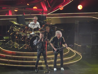 Queen with Adam Lambert