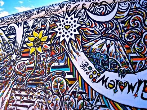 Berlin Wall mural, Berlin, Germany, photo by Stephen Hues