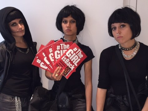 Will the real Lisbeth Salander please stand up?