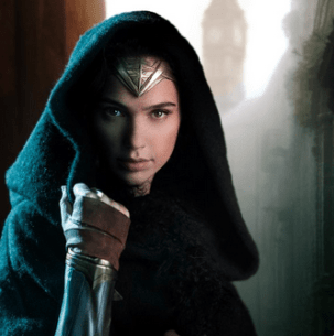 Gal Gadot as Wonder Woman