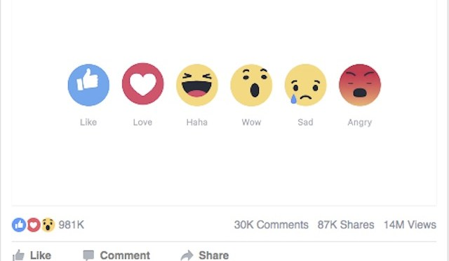 Facebook Launches New Like Buttons