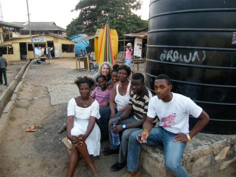 Saying goodbye to the people of Accra, Ghana