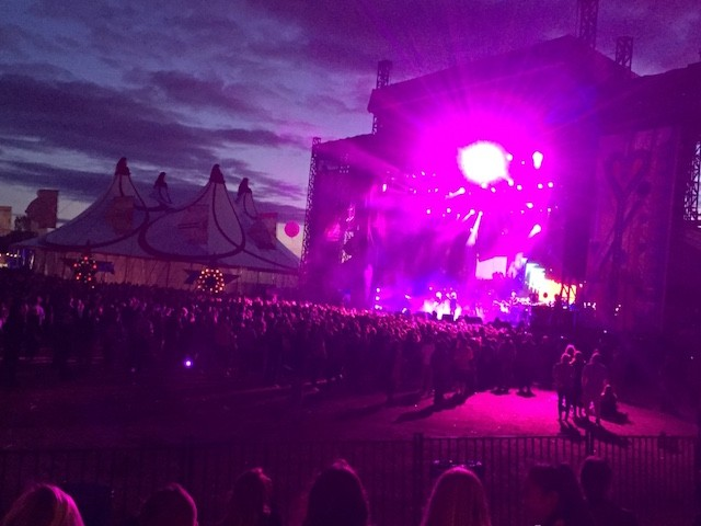 The Cure on the Bestival Main Stage in Toronto. Photo: Cherryl Bird