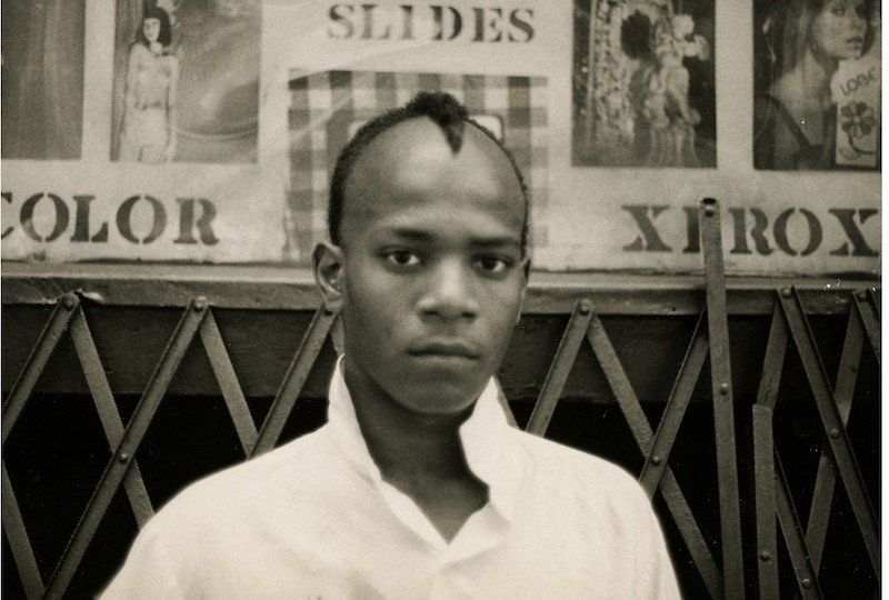 Still from 'Boom for Real: The Late Teenage Years of Jean-Michel Basquiat'. Courtesy of the artist and the gallery