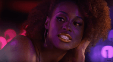 Issa Rae in CoverGirl Melting Pouts Metallic Liquid Lipstick ad