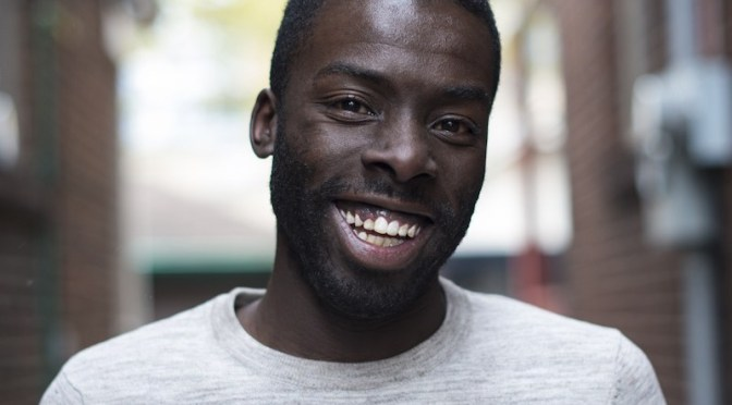 Desmond Cole, winner of the 2017 PEN Canada/Ken Filkow Prize for freedom of expression (CNW Group/PEN Canada)
