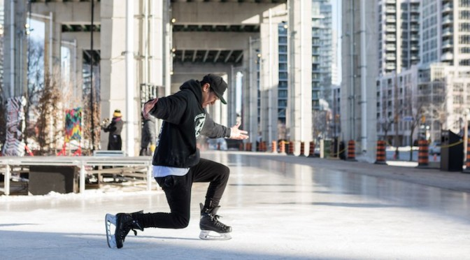 The Bentway Skating Trail