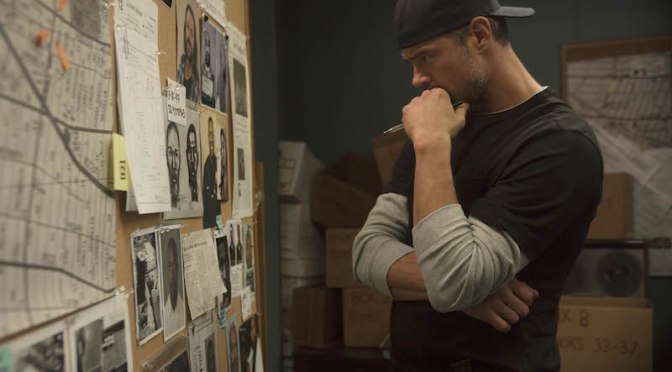 "UNSOLVED: THE MURDERS OF TUPAC AND THE NOTORIOUS B.I.G. -- ""Pilot"" Episode 101 -- Pictured: Josh Duhamel (Photo by: Richie Knapp/USA Network)"
