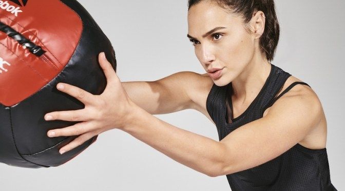 Actress Gal Gadot, for Reebok. Photo: Collier Schorr