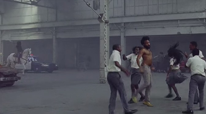 Childish Gambino's critique on the American way of life