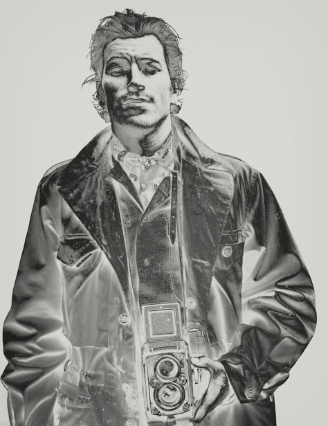 Self-portrait from IPSEITY. Photo: Brendan Meadows