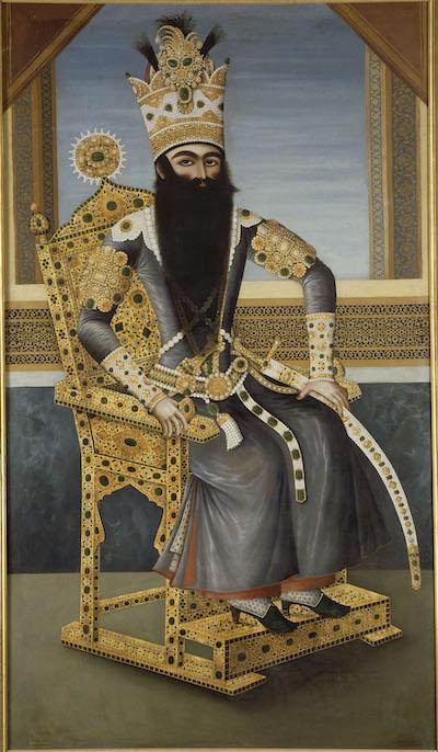 Fath Ali Shah, shah de Perse (1771-1834)