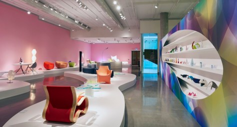 Installation view of Karim's designs at the Ottawa Art Gallery. Photo by Andre Rozon