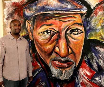 Corey Barksdale Atlanta Artist Mural Artist Corey