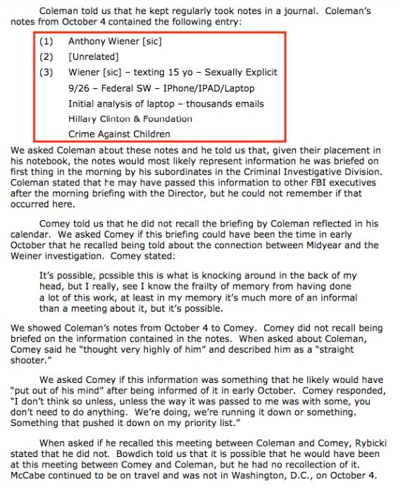 Hillary Clinton crime against children