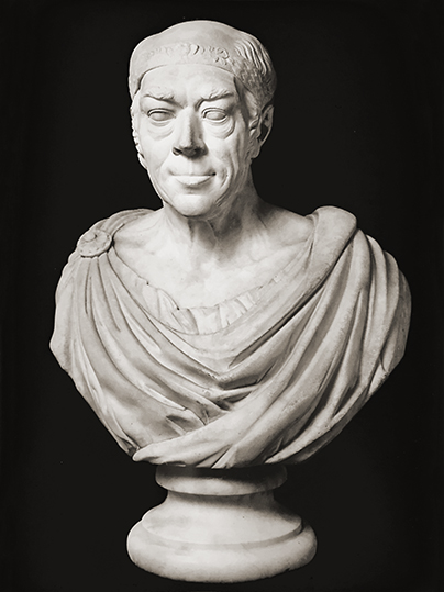 Bust of Frederick Guilford