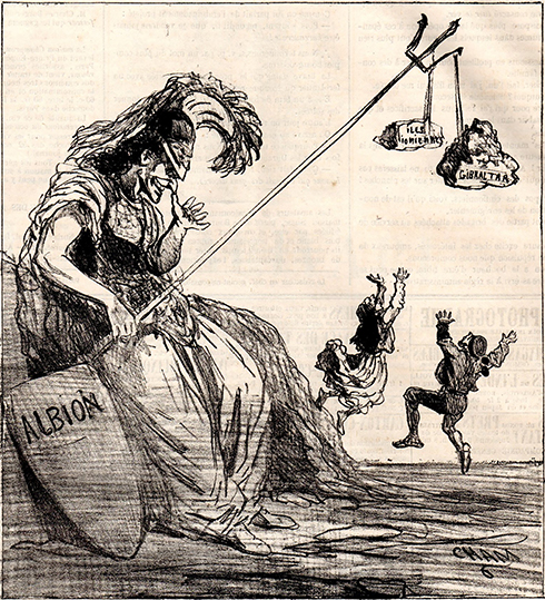 Cham - Le Charivari – News 172, 19.01.1863