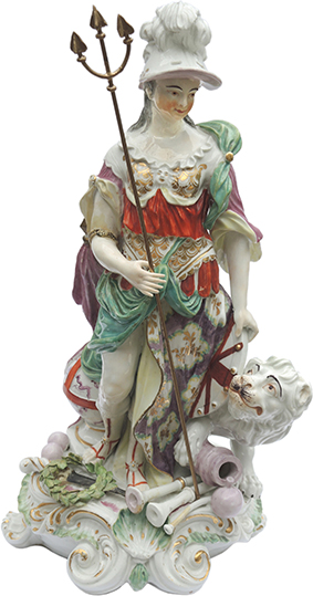 Derby Figurine of Britannia