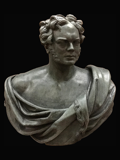 Bust Portrait of Lord Nugent (bronze)