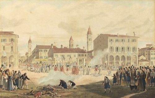 Joseph Cartwright - Procession of Saint Spyridon, Corfu