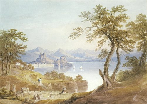 Sarah Markham - View of the Old Fortress from Paleopolis